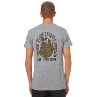 UPPERCUT Dont Trim On Men Mens Tee GREY Crew neckline  UJFCRUW