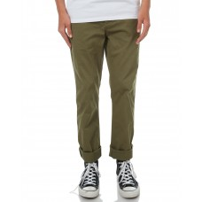 DC SHOES Mens Worker Straight Chino Pant VINTAGE GREEN Waist Type Fitted KCKDTIG