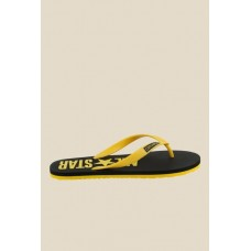 Men Converse Yellow & Black Flip Flops MP000000000668815 WZARMWL